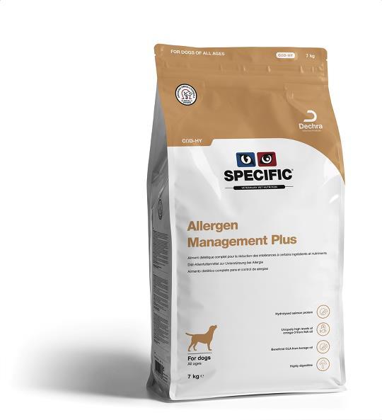 Specific COD-HY Allergen Management Plus Dog Food